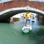 SUP in Venice의 사진