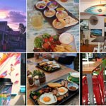 great food, decor, coffee and sunsets!