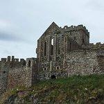 Peel castle exterior