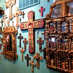 Wall of Christian Crosses!