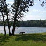 Lake Ahquabi Campground near Indianola, Iowa.