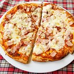 Pizza ham & cheese