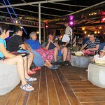 Chilling out at the Stone Bar - New Hurghada Marina (30/Aug/18).