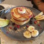 pancakes délicieux (avec caramel beurre salé:D)
