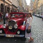 Prague Old Car Foto