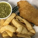 Hodgson's Chippy Mini-Fish Meal - 5.5 grams of fat per 100 grams - less than 300 calories...