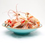 langoustines in garlic and herb butter