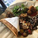 Mixed veggie platter...amazing
