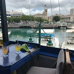 Our lunch view
