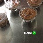 Homemade chocomousse