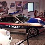 The police Porsche
