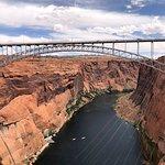 Bridge over the dam