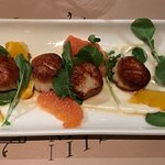 Seared Scallops appetizer - Legal on the Mystic - Assembly Row, Somerville, MA