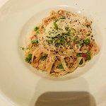 fresh pasta carbonara - amazing pasta!