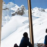 What a view! Knoll Ridge Cafe, Mt Ruapehu