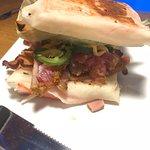 What's Shakin Bacon Sandwich