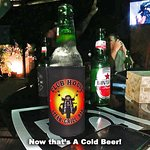 Now that's a Cold Beer!