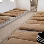 Sleeping quarters of the inmates