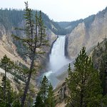 Photo of Lower Yellowstone River Falls
