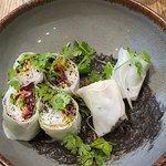 veggie rice wrap