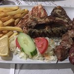 Mix grill plate