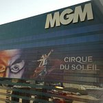 View of MGM externally