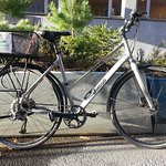 Quality city bikes with basket, 9 gears, hydraulic disk brakes