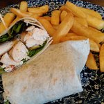 Deli Deal Chicken Wrap Clothiers Arms Sept 2018