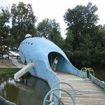 Blue Whale of Catoosa from tail