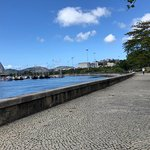 Vista da Marina da Glória dentro do Parque do Flamengo.
