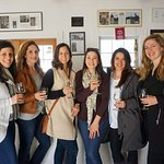 Girls weekend at Hudson-Chatham Winery