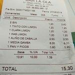 Photo de Bar La Ola