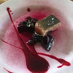 Trout with Blackberry