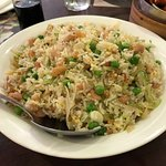 salted fish fried rice - a must try