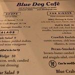 Photo de Blue Dog Cafe