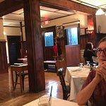 Cousin Jean & interior of Belton Grill