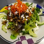 The brand new fall menu at Starfish Cafe is their best ever!   Healthy and fresh with new Medite