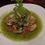 Shrimp aguachile!