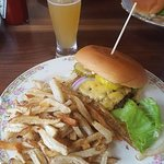 My burger and fries rocked!