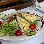 Salade au St Marcellin