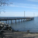 Dock at Crescent Beach.