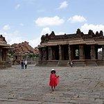 Vittal Temple courtyard