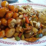 Sweet & Sour Pork/Kung Pao Chicken/Fried Rice