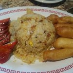 Childs-BBQ Pork/Fried Rice/Fried Shrimp