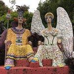 Mosaic figures