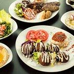 Assortiment de nos délicieux mezzés et plats