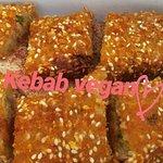 Delicious kebab vegan! Totally homemade!