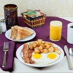 A hearty breakfast!