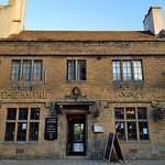 Exterior of pub early evening