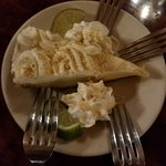 Key Lime Pie - one slice for the 4 of us was excellent